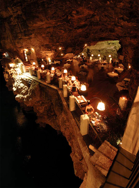Restaurant Inside a Cave
