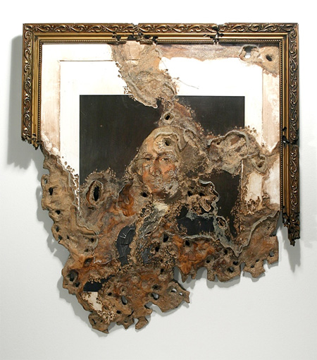 Eroded Painting