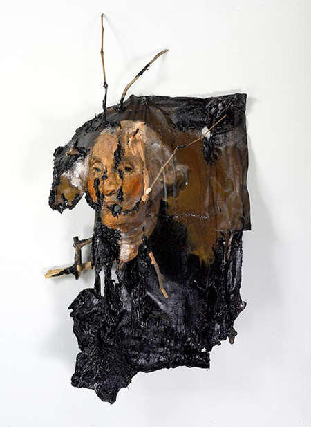 Burned Painting