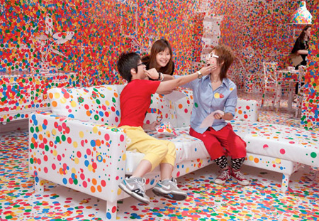 Room Decorated with Stickers