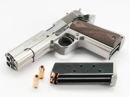 Double Barrel Handgun