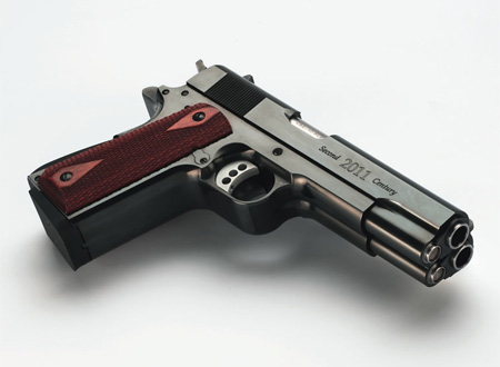 Gun Shoots Two Bullets