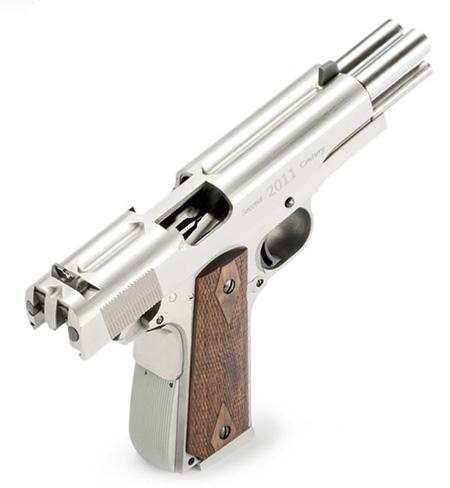Handgun Shoots Two Bullets