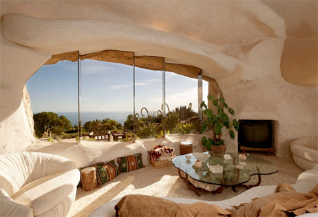 Flintstones Living Room