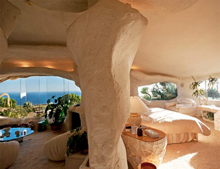 Dick Clark Flintstones House