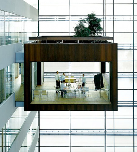 Suspended Meeting Room