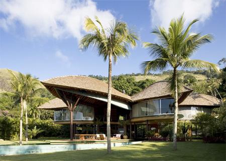 Leaf Inspired House