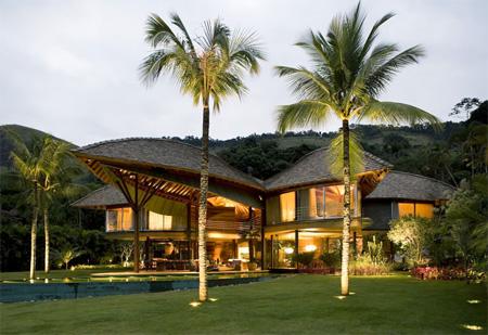 Leaf Inspired Roof