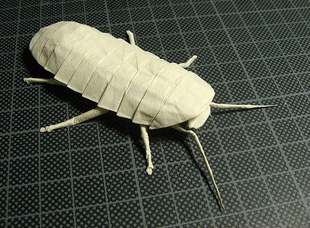 Paper Cockroach
