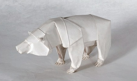 Paper Grizzly Bear