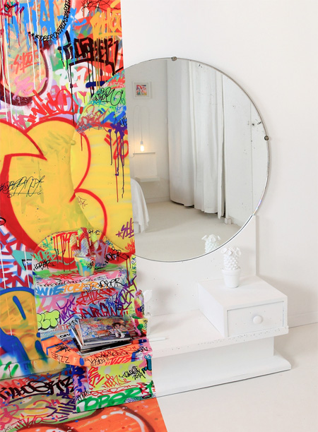Graffiti Mirror