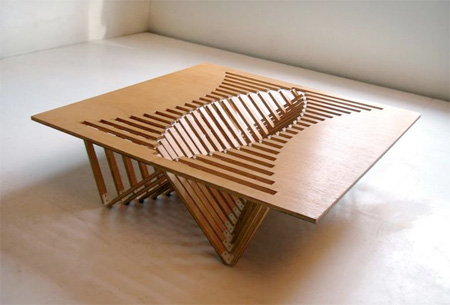 Robert van Embricqs Rising Table