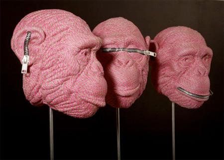 Rope Sculptures by Mozart Guerra