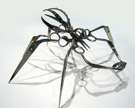 Scissor Spider by Christopher Locke