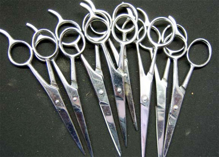 Confiscated Scissors