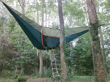 - Hanging Tent