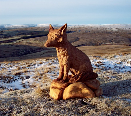 Fox Tree Sculpture