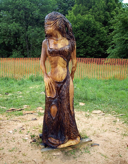 Tommy Craggs Tree Sculpting