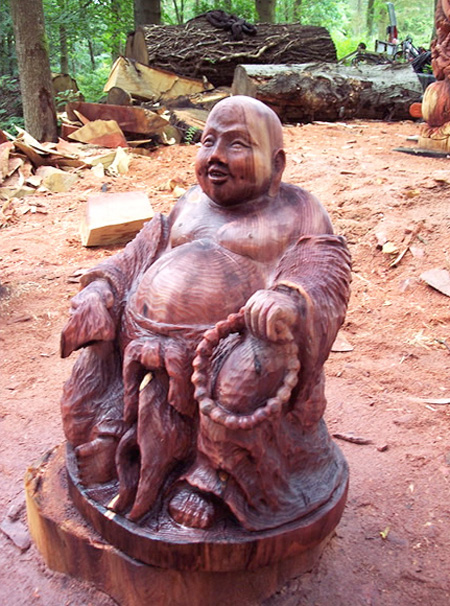 Buddha Tree Sculpture