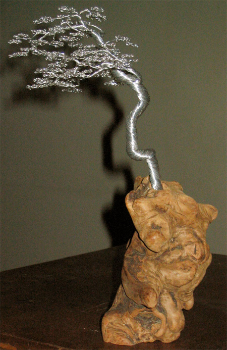 Wire Bonsai Tree