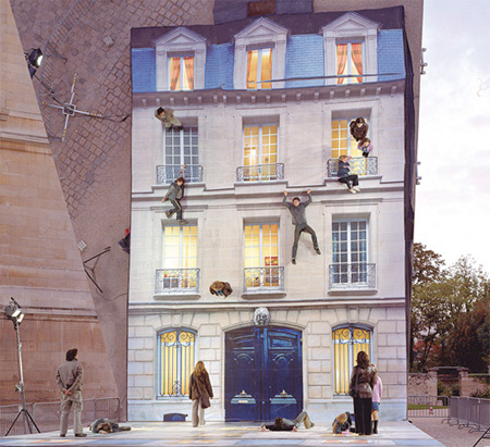 Horizontal Building by Leandro Erlich