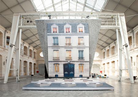 Batiment by Leandro Erlich