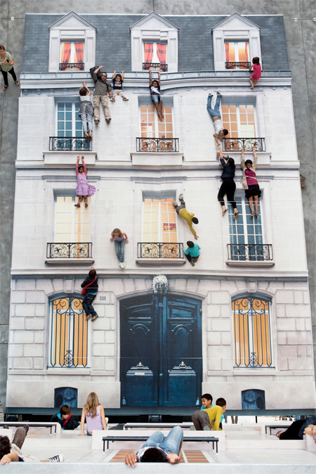 Building by Leandro Erlich