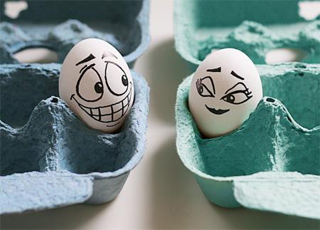 Clever Egg Art
