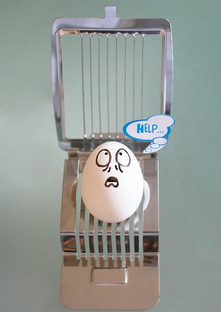 Cool Egg Art