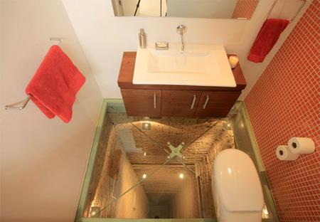 Bottomless Bathroom
