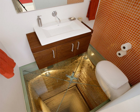 Elevator Shaft Bathroom
