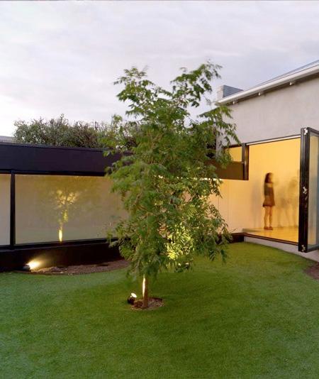 Hill House Backyard