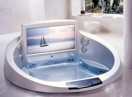 TV Hot Tub