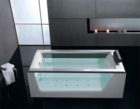 Transparent Hot Tub