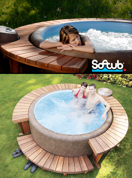 Energy house fresno modern hot tubs - Soft tube whirlpool ...
