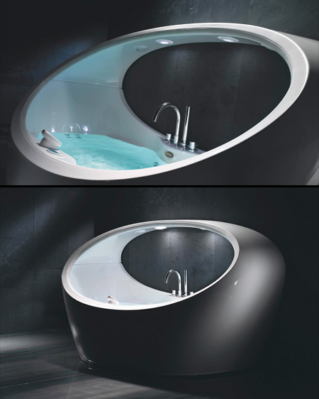 Futuristic Hot Tub