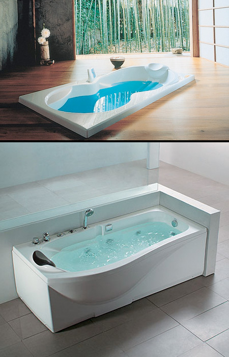 unique jacuzzi bathtubs high tech whirlpool bathtubs