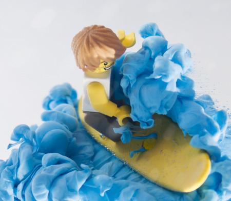 Les legos surfeurs