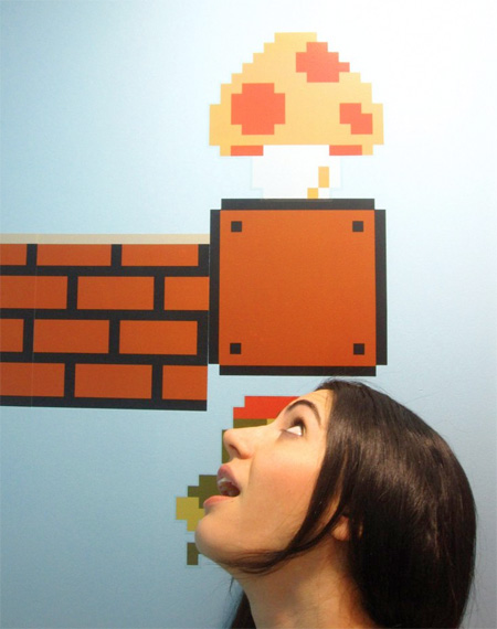 Mario Themed Bathroom