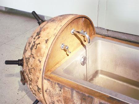 Naval Mine Bathtub