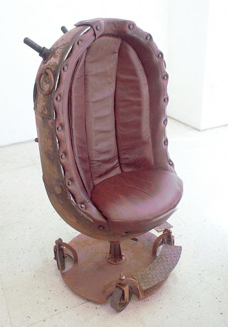Naval Mine Shell Chair