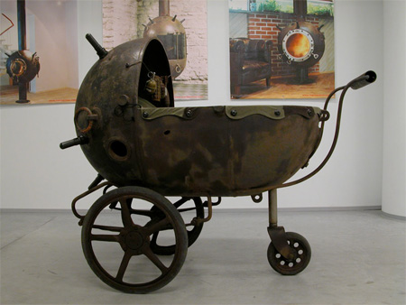 Naval Mine Baby Carriage