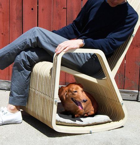 Dog Rocking Chair