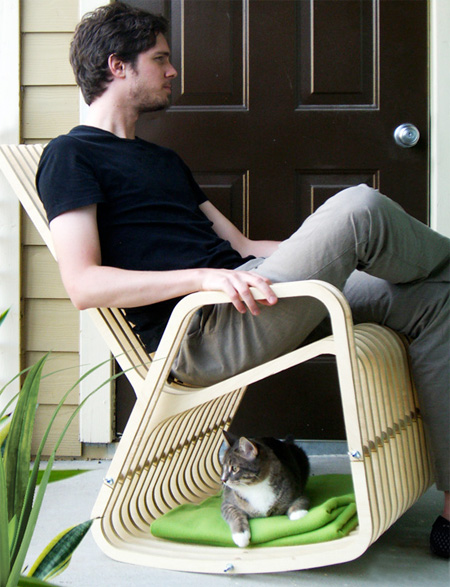 Cat Rocking Chair