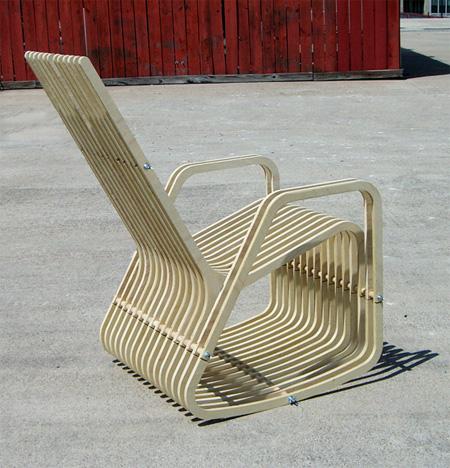 Paul Kweton Rocking Chair