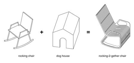 Dog House Rocking Chair