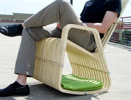 Rocking Chair by Paul Kweton