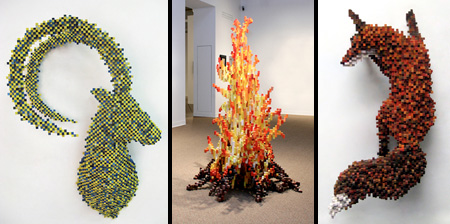 Pixelated Sculptures