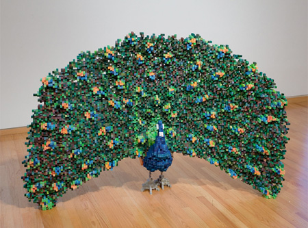 Pixelated Sculpture