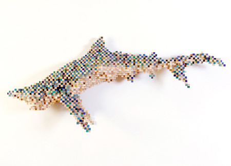 Pixel Sculpture by Shawn Smith